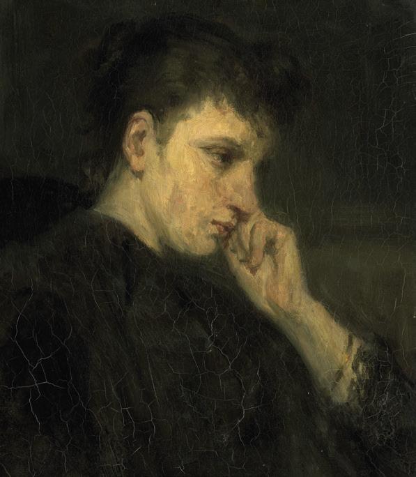 Illustratie, Melancholie als crisis in de zelfwording