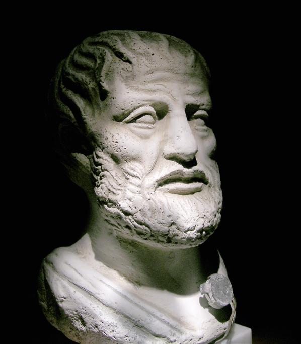 Illustratie, Is het geschrift Over de kosmos een echte Aristoteles?